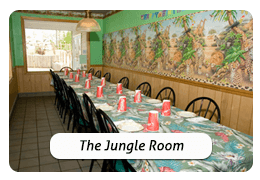 The Jungle Room at Golf Shores Fun Center